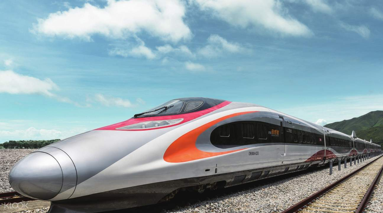 High Speed Rail Long Haul Tickets from Hong Kong to Other